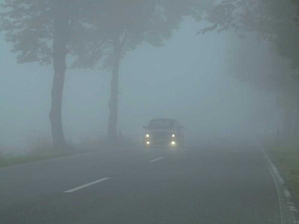 Дорога в тумане